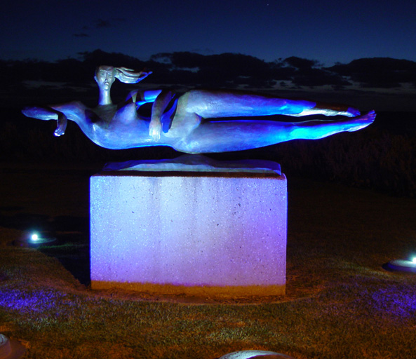 Swimmers Sculpture 1