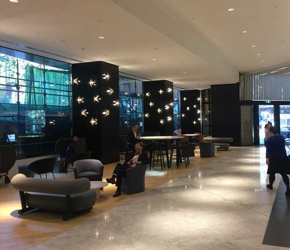 459 Collins St – Lobby (real) – 06